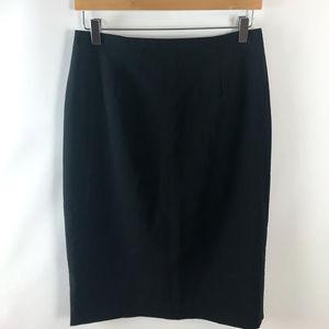 Bill Blass Womens Vintage Wool Pencil Skirt